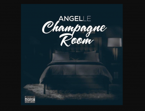 """New single release tomorrow """"Champange Room by Angelle."""